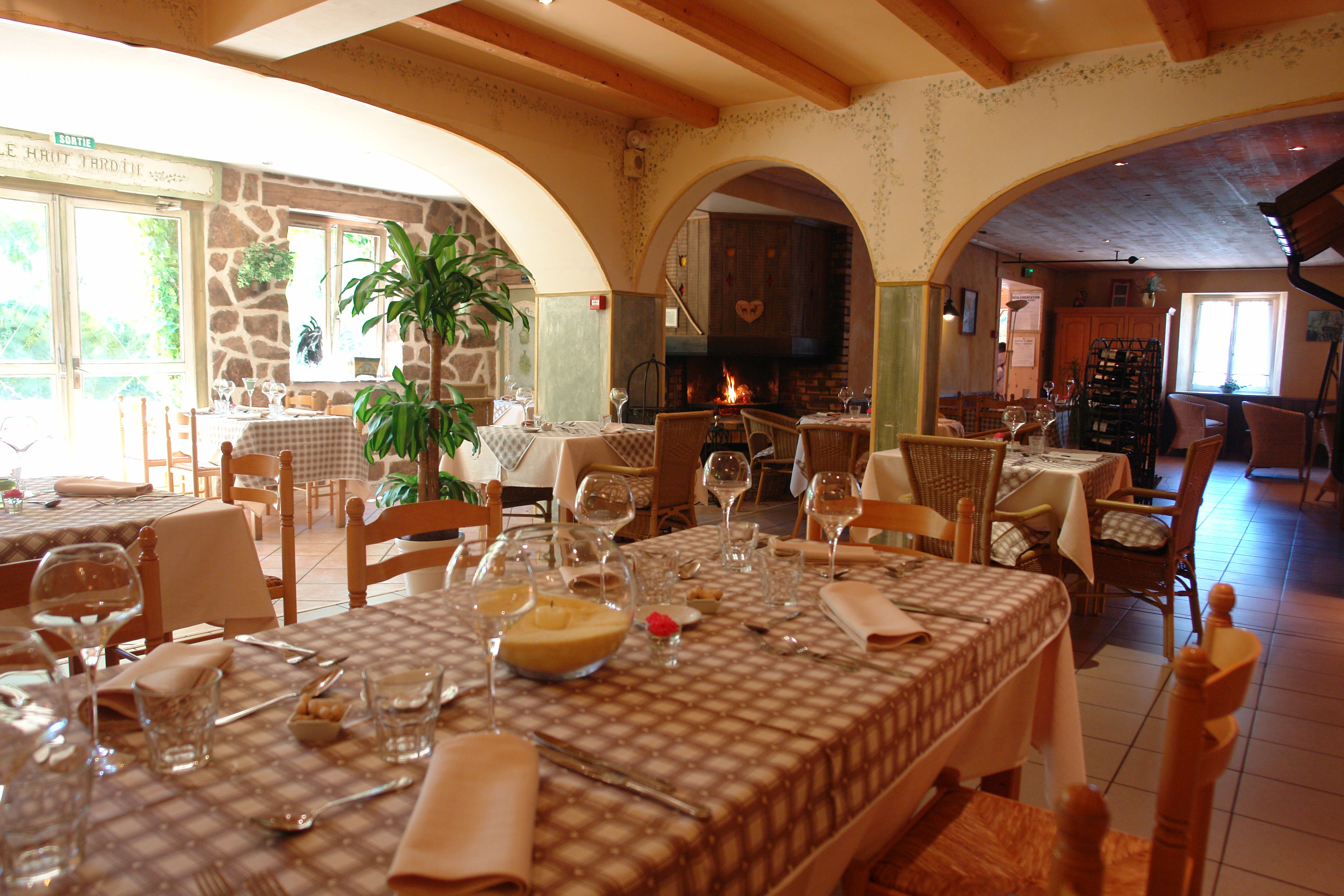 Cuisine du terroir 38 for Auberge du haut jardin