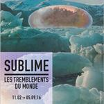 EXPOSITION 'SUBLIME: LES TREMBLEMENTS DU MONDE'
