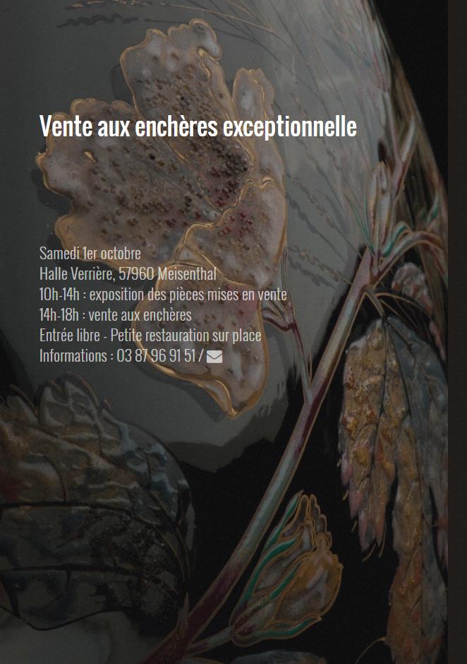 VENTE AUX ENCHÈRES EXCEPTIONNELLE