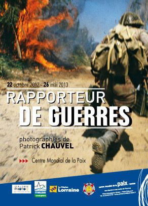 EXPOSITION : RAPPORTEUR DE GUERRES