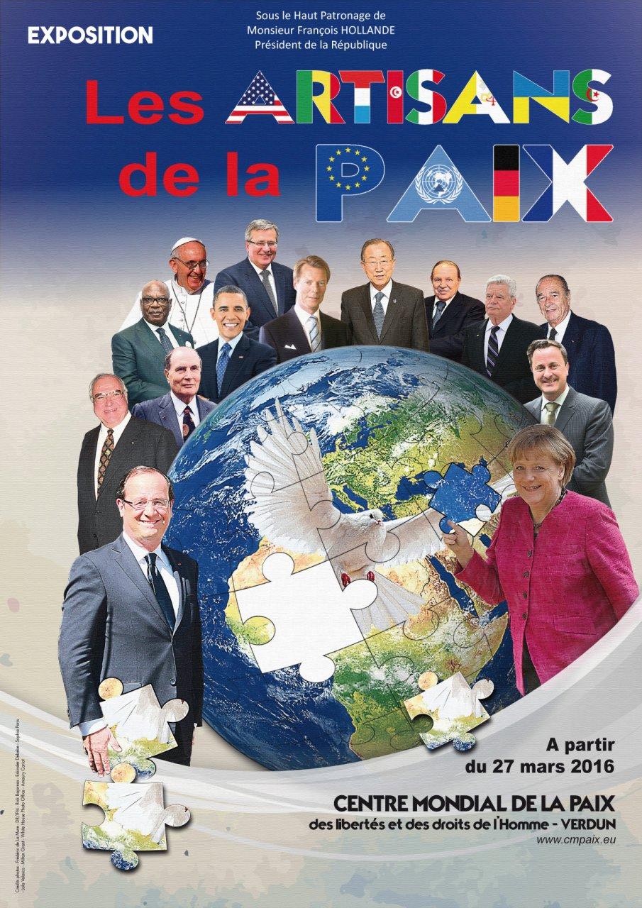 EXPOSITION LES ARTISANS DE LA PAIX