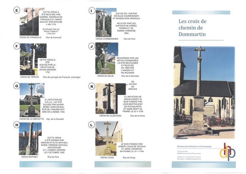 Dommartin Histoire et patrimoine