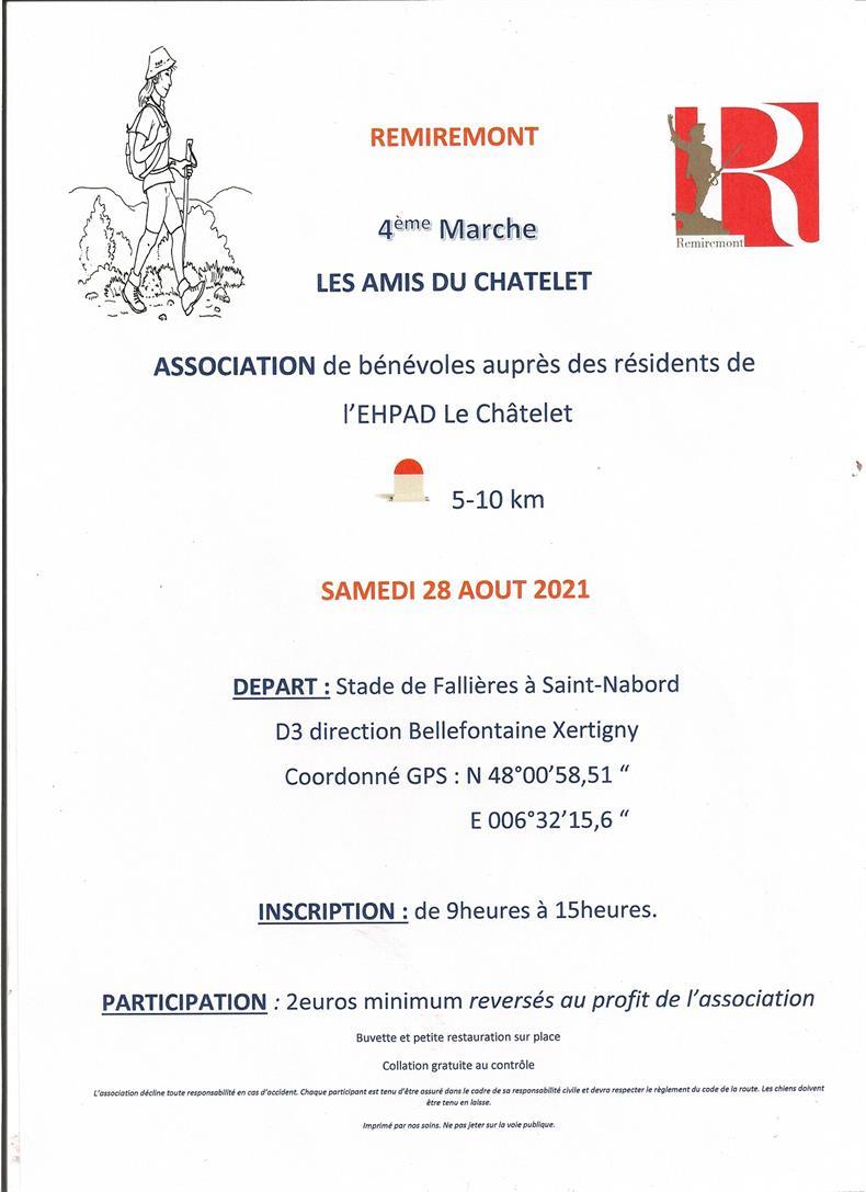 Association de bénévoles auprès des résidents de l'EHPAD Le Châtelet