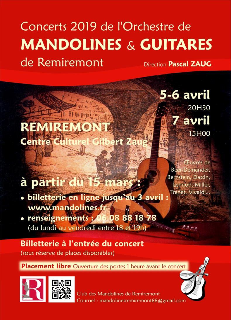 CLUB DES MANDOLINES DE REMIREMONT