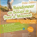Nancy : RANDONNER EN BASSIN DE PONT A MOUSSON