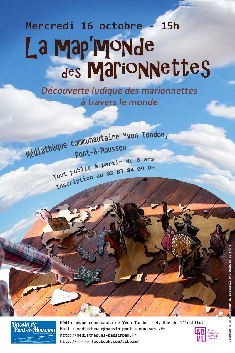 LA MAP'MONDE DES MARIONNETTES