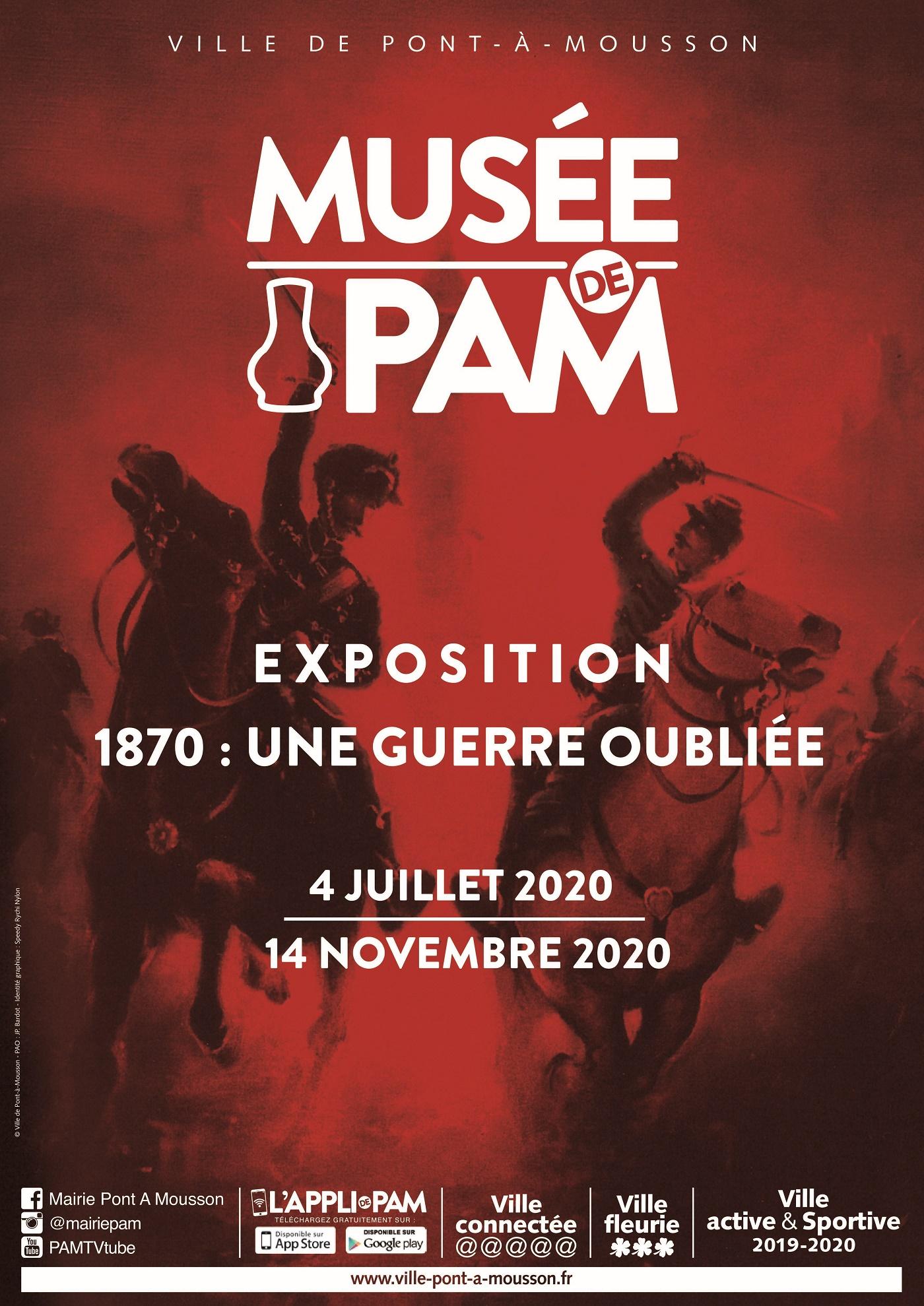 EXPOSITION - 1870, UNE GUERRE OUBLIÉE