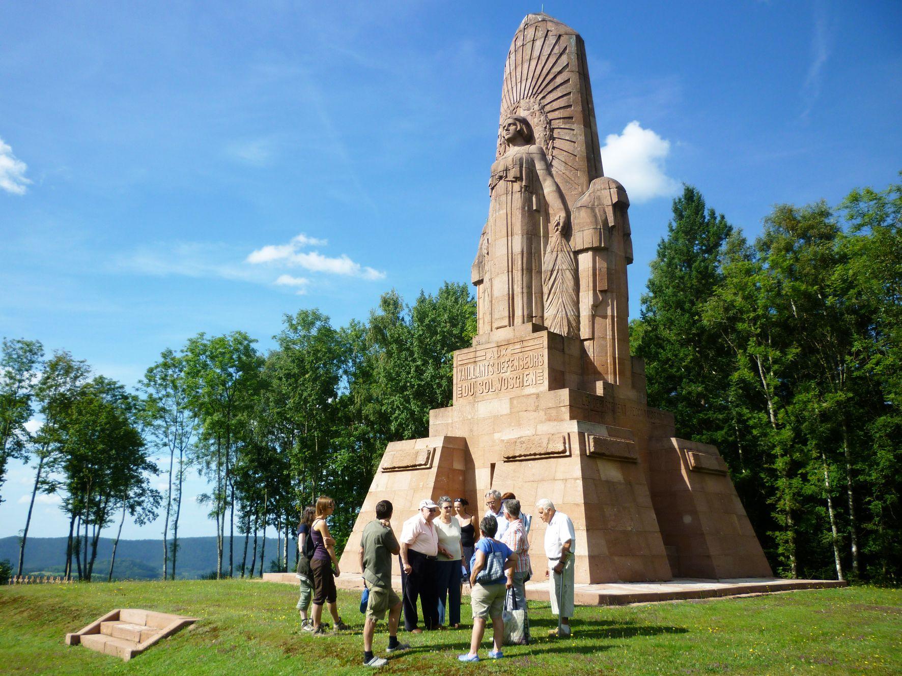 Necropole nationale de la fontenelle patrimoine culturel - Federation nationale des offices de tourisme ...