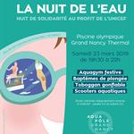 Nancy : MANIFESTATION LA NUIT DE L'EAU UNICEF