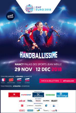 Euro handball 2018