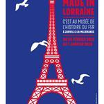 Nancy : EXPOSITION TOUR EIFFEL MADE IN LORRAINE