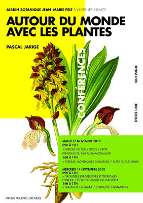 CONFERENCES AUTOUR DU MONDE AVEC LES PLANTES
