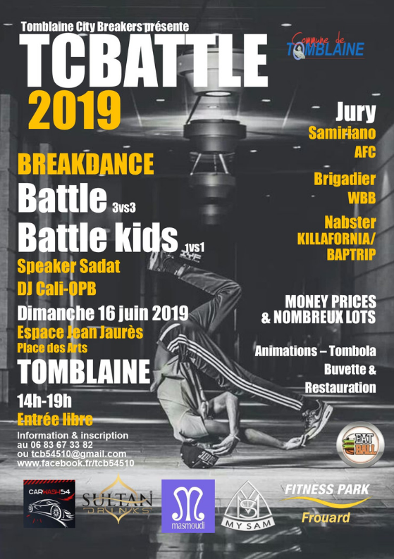 COMPETITION BREAKDANCE TCBATTLE 2019