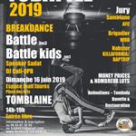 Nancy : COMPETITION BREAKDANCE TCBATTLE 2019