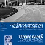 Nancy : CONFÉRENCE INAUGURALE - TERRES RARES