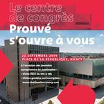 Nancy : PORTES OUVERTES CENTRE DE CONGRÈS PROUVÉ