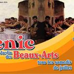 Nancy : PICNIC AU JARDIN DES BEAUX ARTS