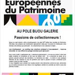 Nancy : JOURNÉES EUROPÉENNES DU PATRIMOINE: POLE BIJOU GALERIE