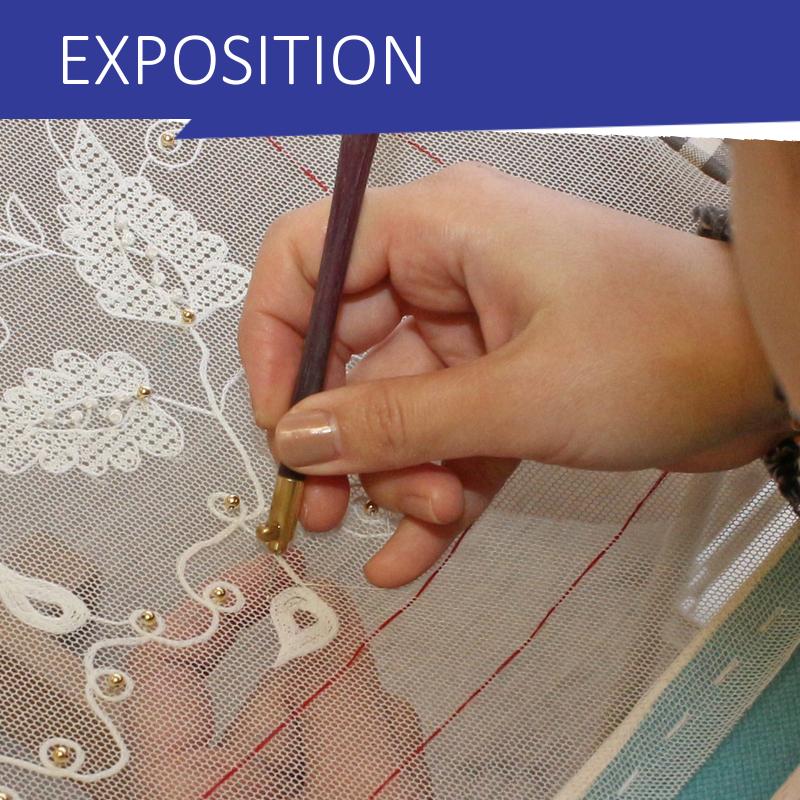 EXPOSITION SUR  LE POINT DE LUNEVILLE