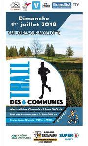 COURSE DES CHAMOIS TRAIL DES 6 COMMUNES - Crédit photo : COHM