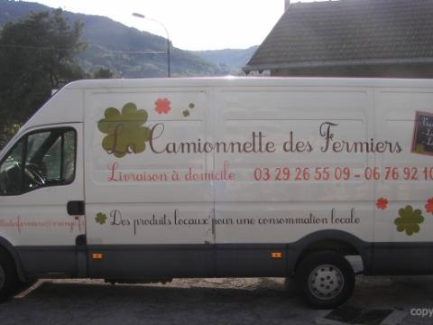 LA CAMIONNETTE DES FERMIERS