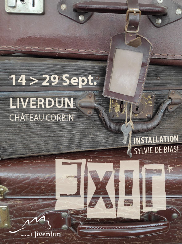 EXIL, EXPOSITION AU CHÂTEAU CORBIN