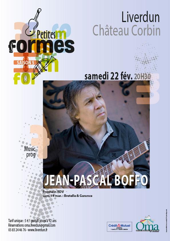 CONCERT DE GUITARE ACCOUSTIQUE DE JEAN-PASCAL BOFFO