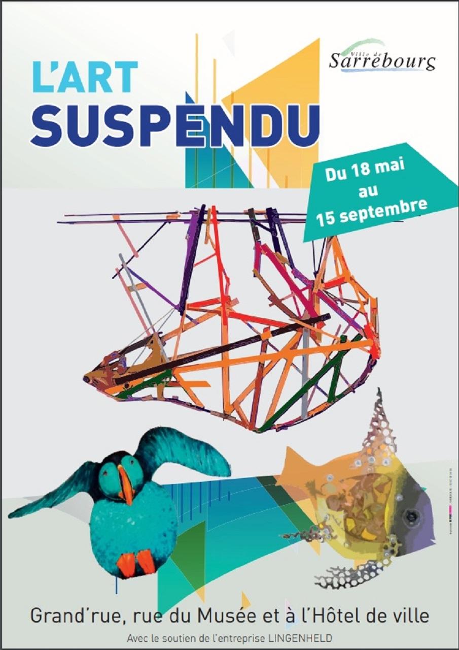 EXPOSITION-L'ART-SUSPENDU
