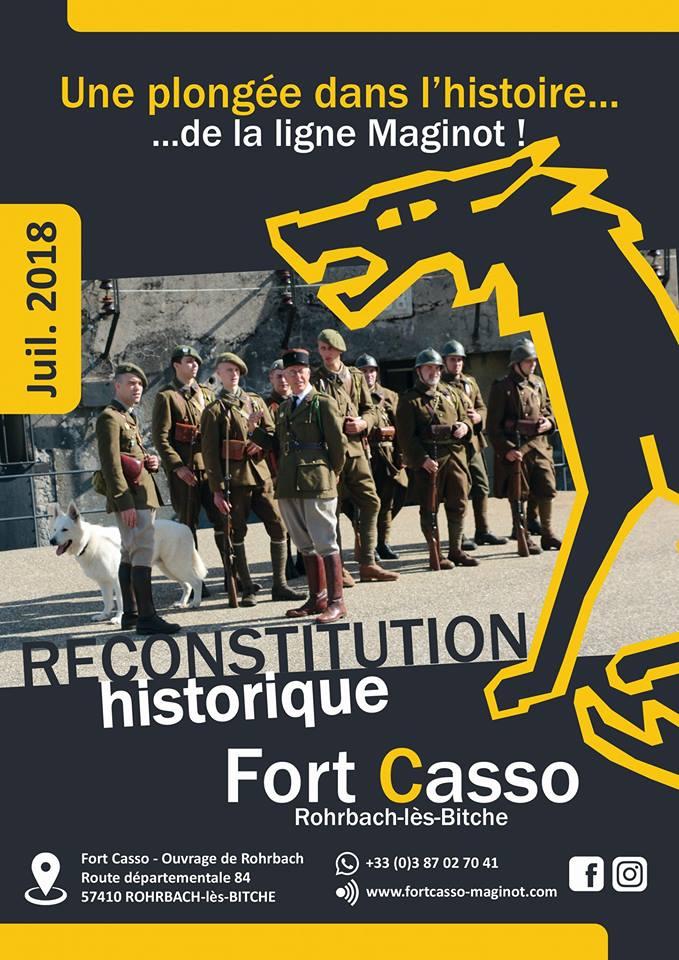 JOURNÉES DE RECONSTITUTION HISTORIQUE AU FORT CASSO : TOUTE UNE HISTOIRE!