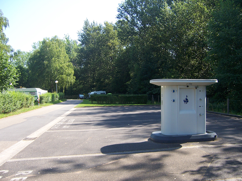 AIRE DE SERVICE CAMPING CAR DU CAMPING RAMSTEIN PLAGE