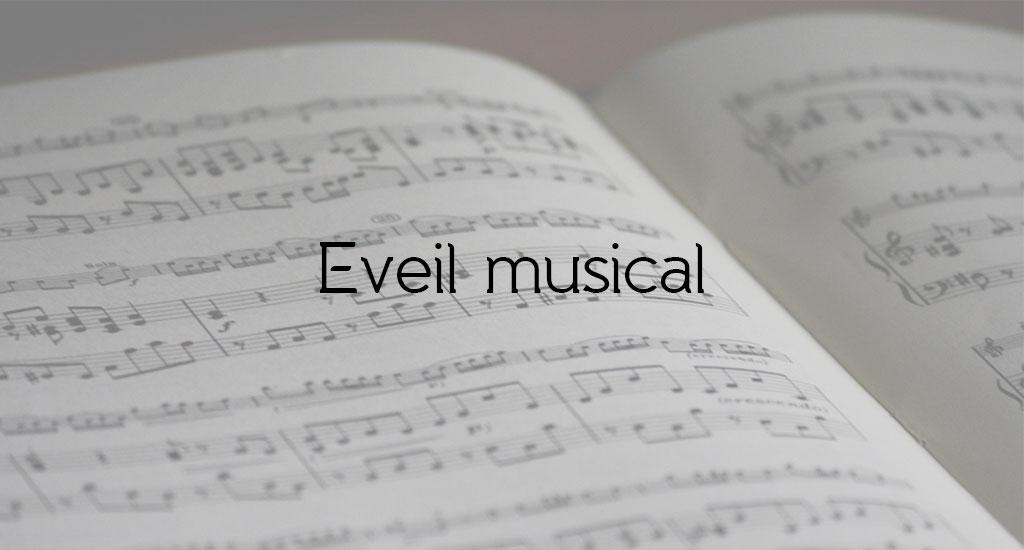 MA PREMIÈRE NOTE - ÉVEIL MUSICAL