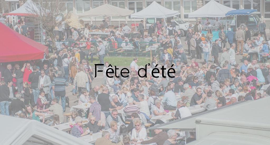 ANNULÉE FÊTE D'ÉTÉ