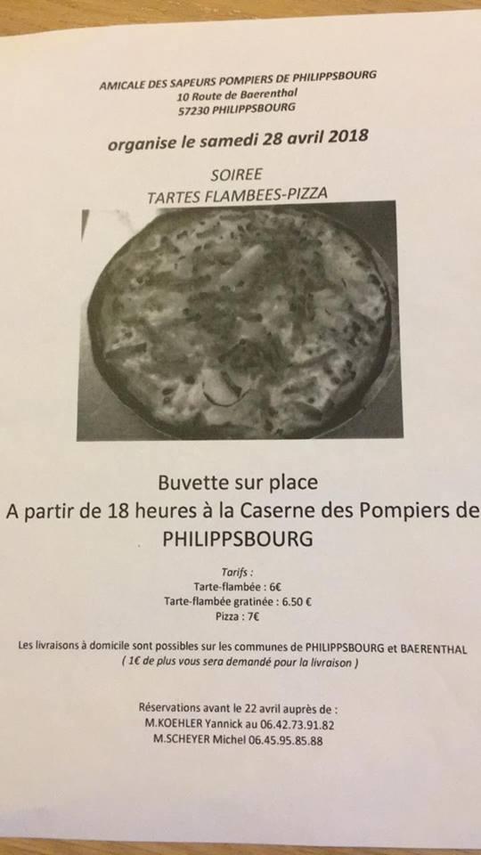 SOIRÉE TARTES FLAMBÉES - PIZZA