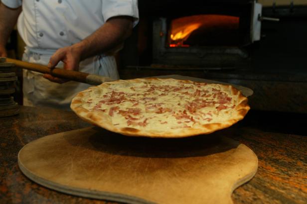 SOIREE PIZZA/FLAMMS