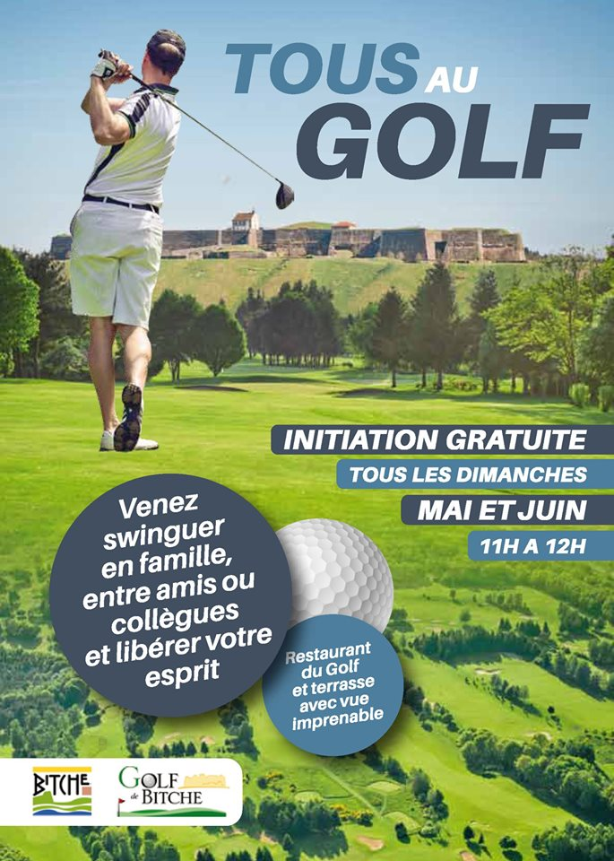 TOUS AU GOLF - INITIATION