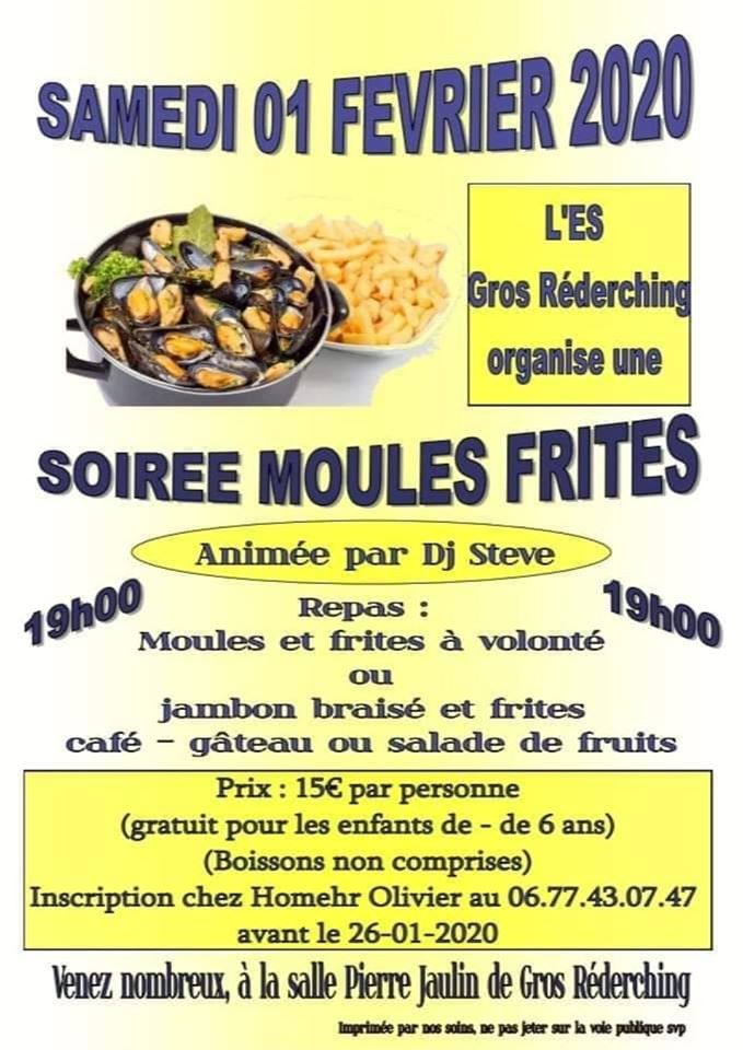 SOIRÉE MOULES -FRITES