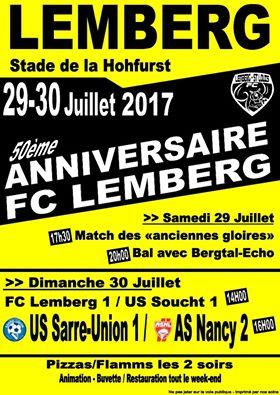 50ÈME ANNIVERSAIRE FC