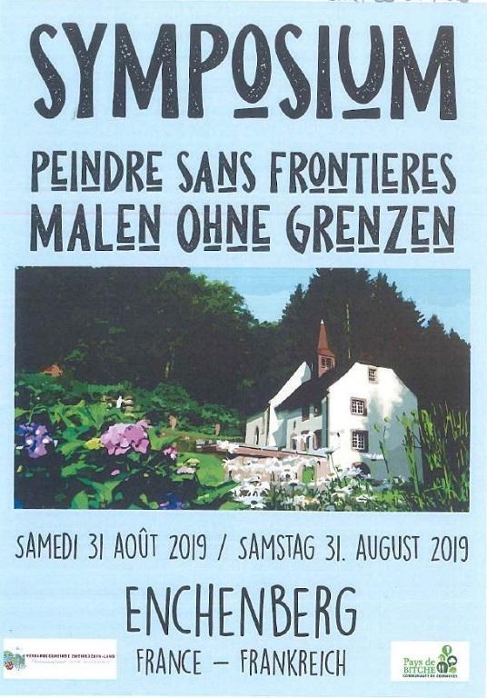 SYMPOSIUM PEINDRE SANS FRONTIERES - MALEN OHNE GRENZEN