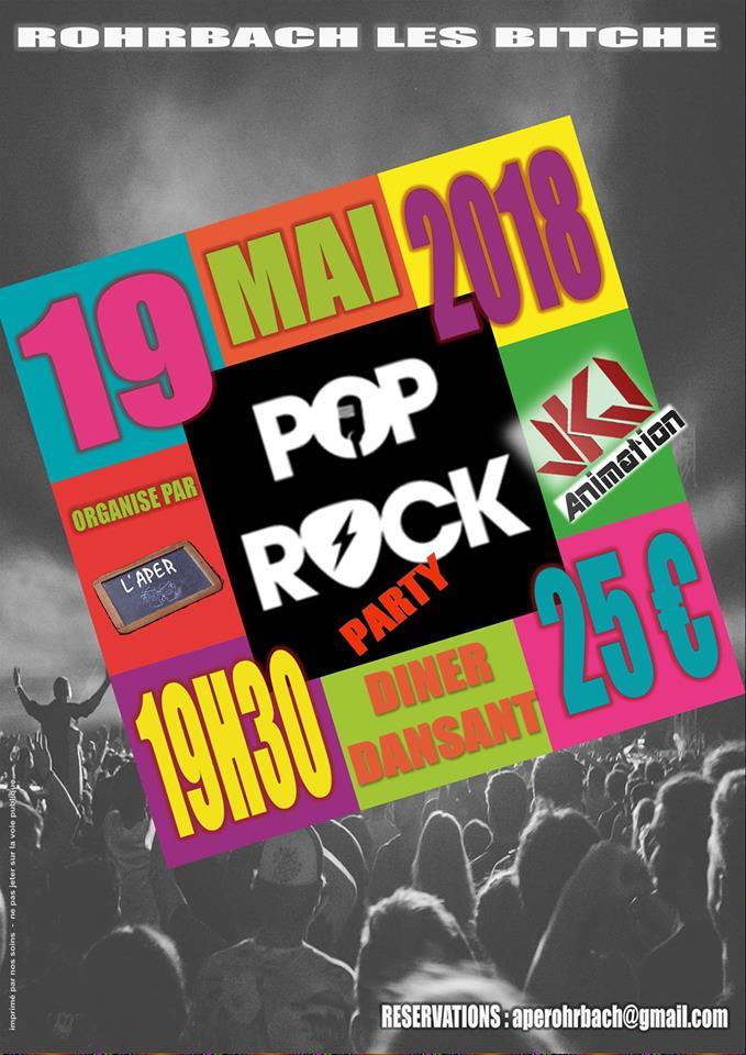 SOIRÉE POP ROCK