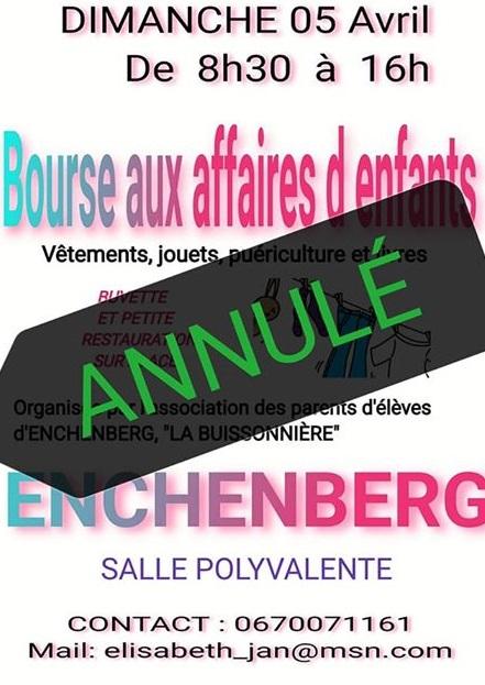 BOURSE AUX AFFAIRES D'ENFANTS