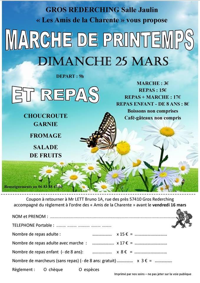 MARCHE DES AMIS DE LA CHARENTE