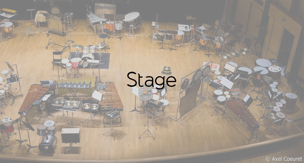 STAGE PERCUSSION