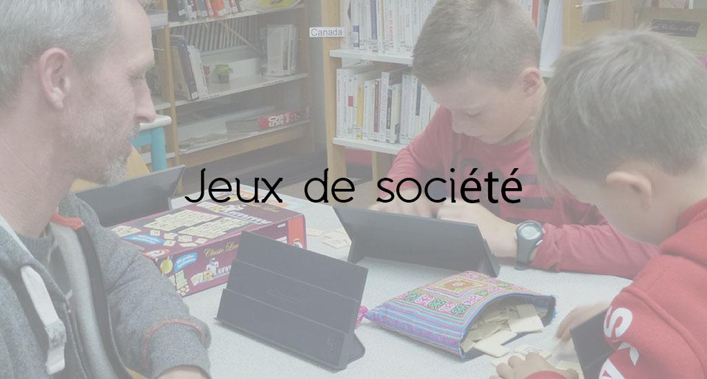 APRÈS-MIDI JEUX DE SOCIÉTÉS