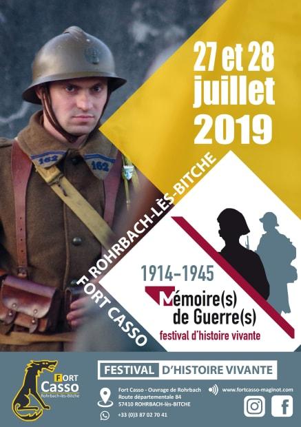 FESTIVAL D'HISTOIRE VIVANTE : MÉMOIRES DE GUERRE