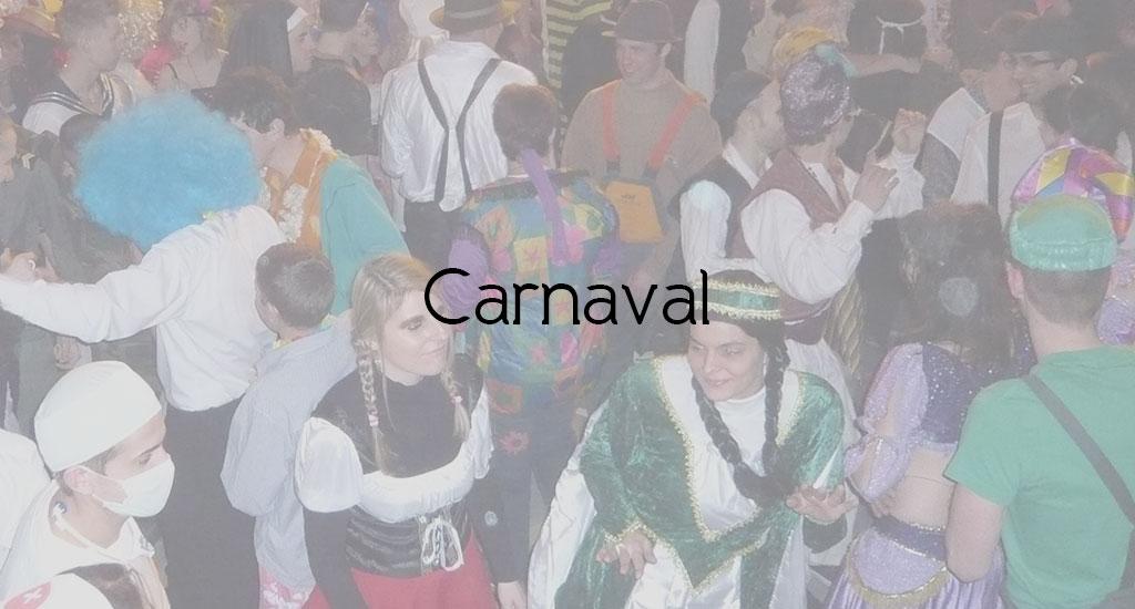 MESSE DES JEUNES ET SOIRÉE CARNAVAL