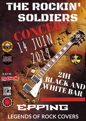 THE ROCKIN' SOLDIERS EN CONCERT