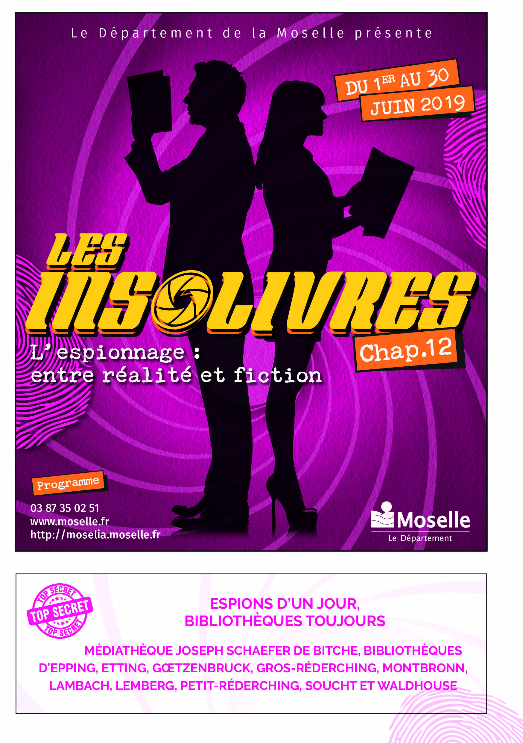 LES INSOLIVRES : ESCAPE GAME : LES TABLES DE L'IMAGINAIRES