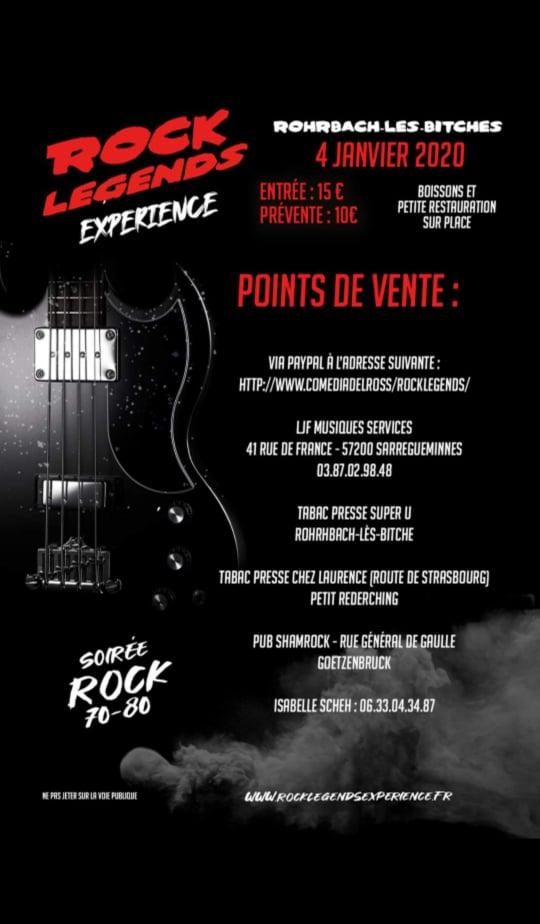 SOIRÉE ROCK 70-80