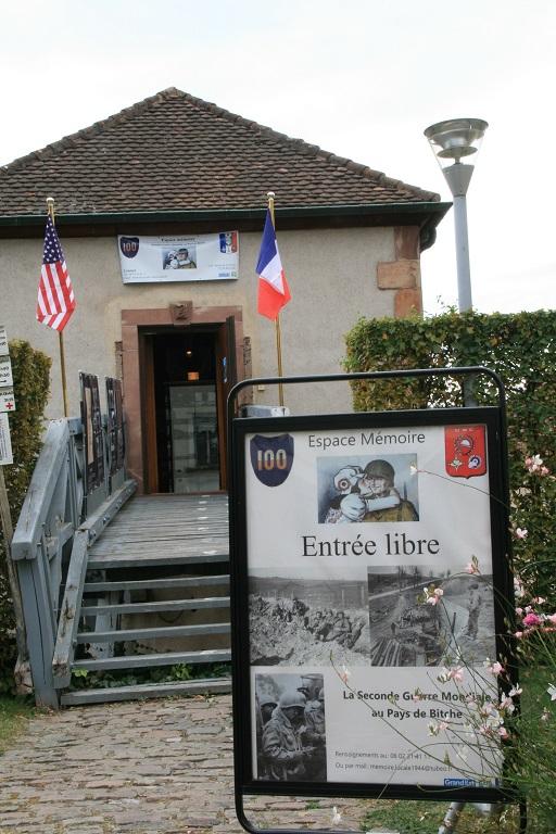OUVERTURE DE L'ESPACE MÉMOIRE WW2