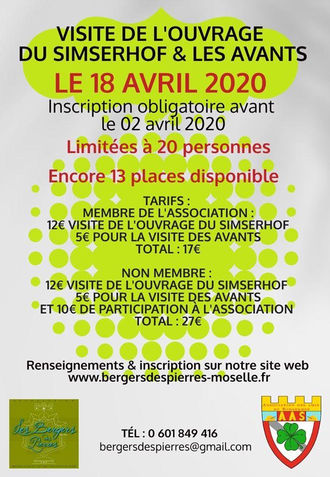VISITE DE L'OUVRAGE DU SIMSERHOF ET DES AVANTS (COMPLET)